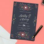 Hochzeits Einladung